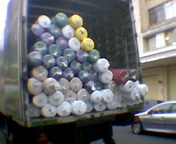 Caminhão no Bom Retiro