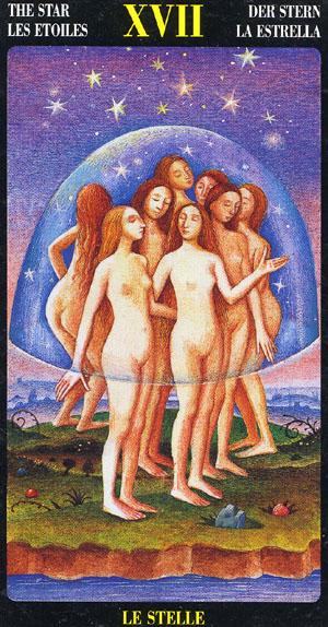 A Estrela - Bosch Tarot
