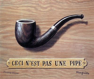 René Magritte - Isto não é um cachimbo