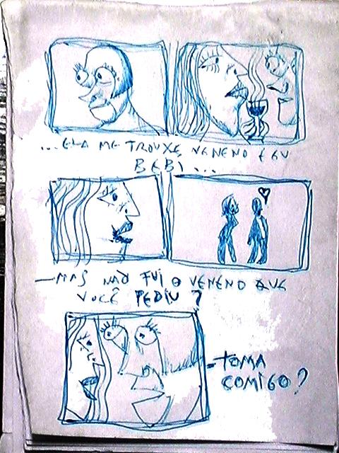 Historinha em quadrinhos