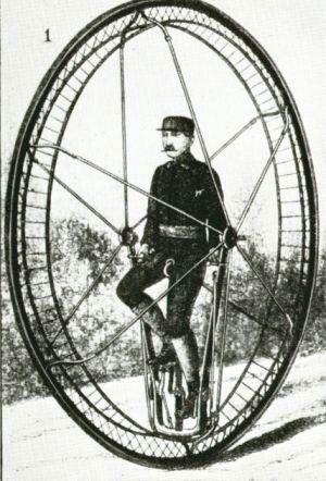 Monociclo do século XiX
