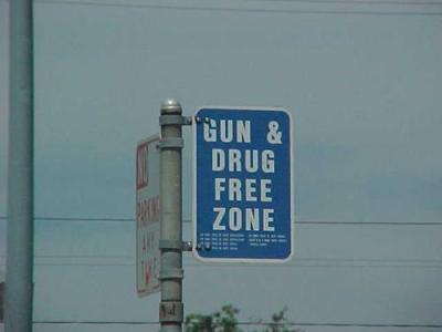 zona livre para drogas e armas