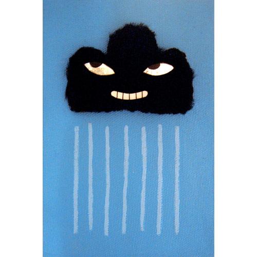 nuvenzinha negra chovendo sacana