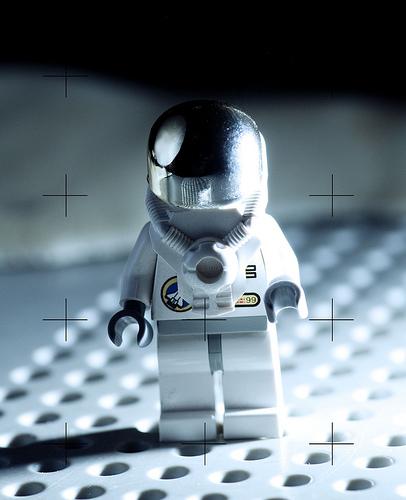 astronauta de lego