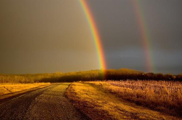 dois arco-�ris