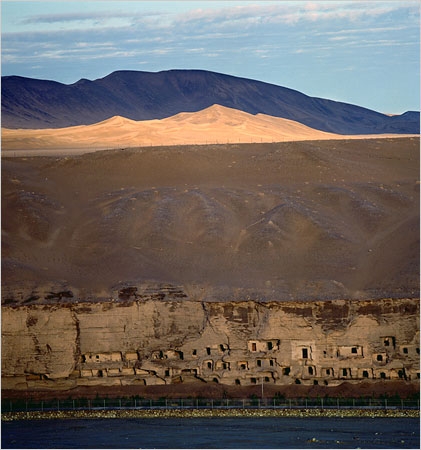 deserto na china cavernas de dunhuang