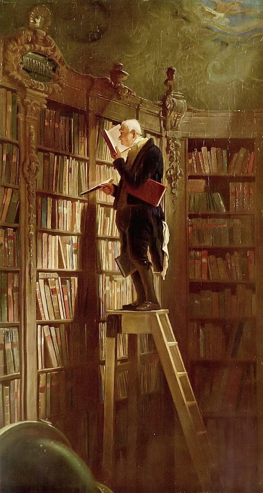 osilenciodoslivrosblogspot_carl-spitzweg-the-bookworm-1850