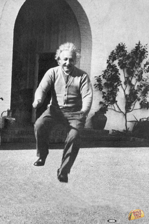 holytacocom_celebrities-riding-invisible-bicycles__einstein-sans-bike
