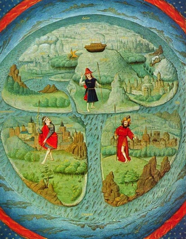 Mapa TO do mundo antigo